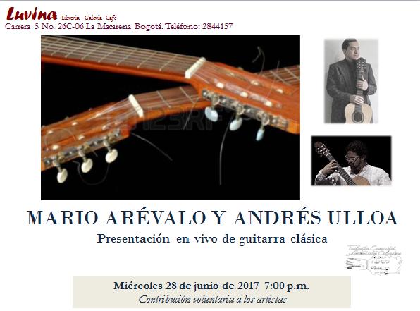 guitarras mario y ulloa
