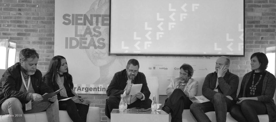presentación de Luvina en la Feria del libro