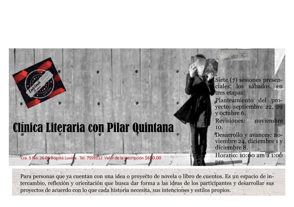 clinica con Pilar Quintana
