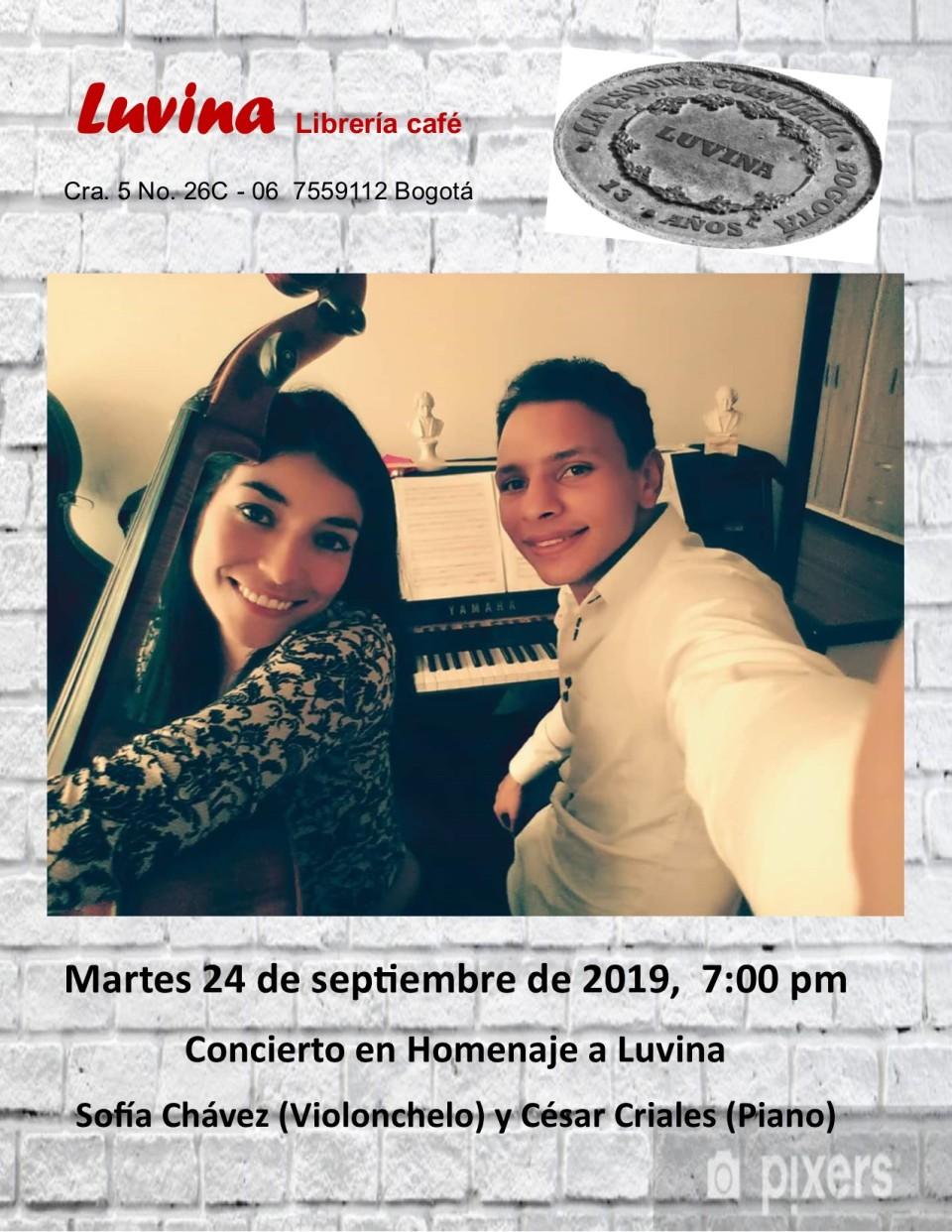 concierto en Homenaje Luvina