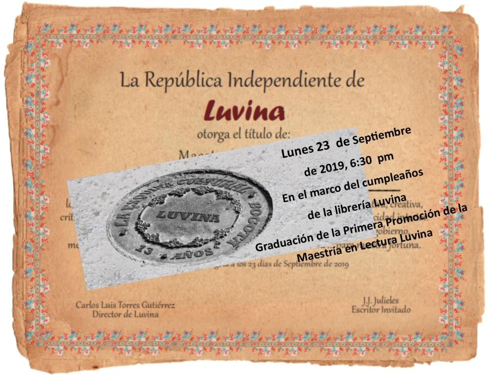 diploma lector Luvina