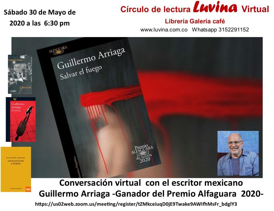 presentación de Guillermo Arriaga