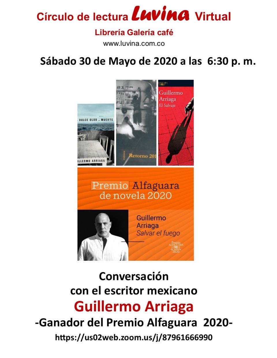 presentación de Guillermo Arriaga4